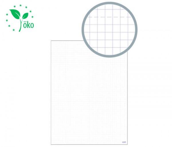 MODERATIO Flipchartpapier mit Perforation (Recycling)