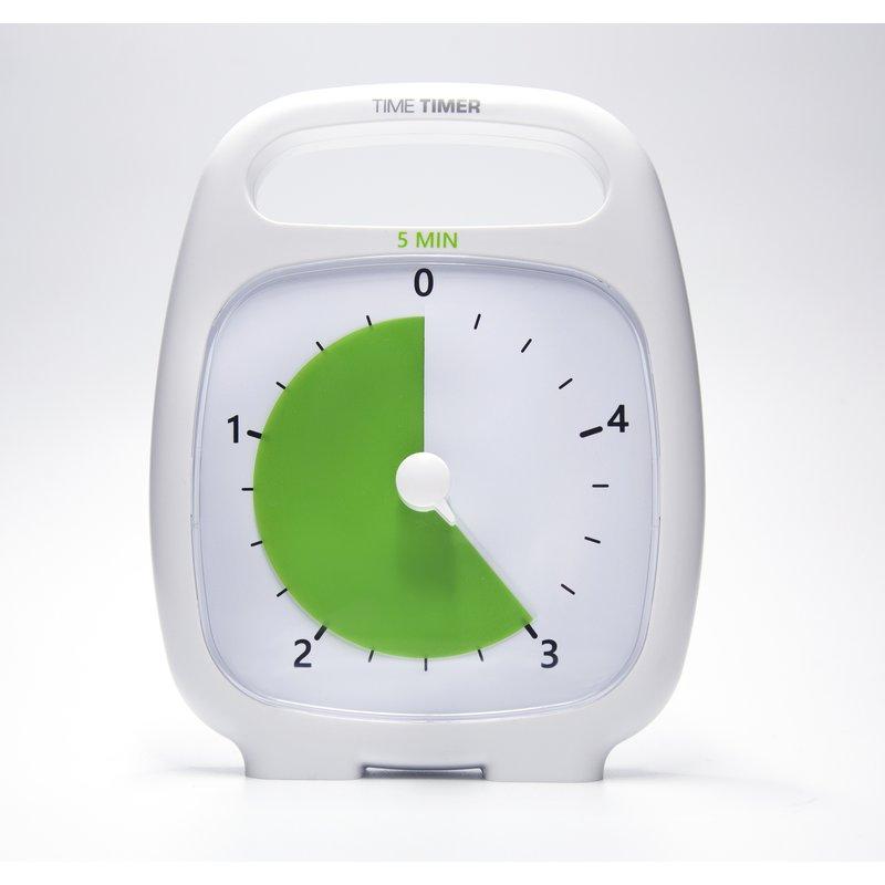 Time Timer PLUS weiß, 5 Minuten
