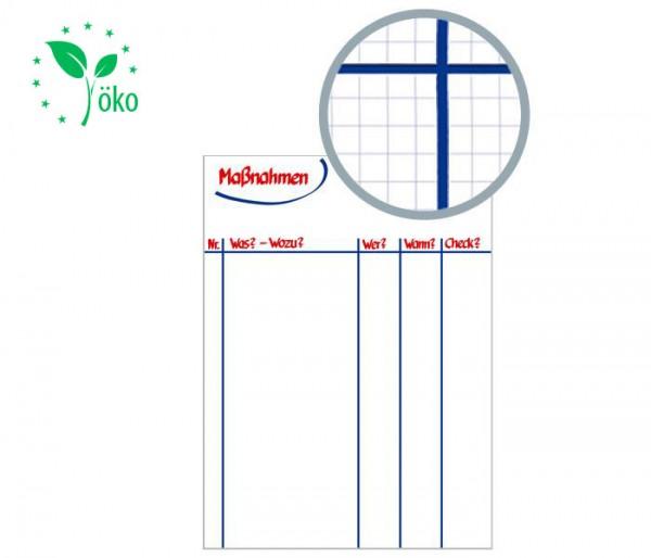 MODERATIO Flipchart Papier Maßnahmenplan (Recycling)