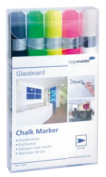 Legamaster Kreidemarker für Glasboard