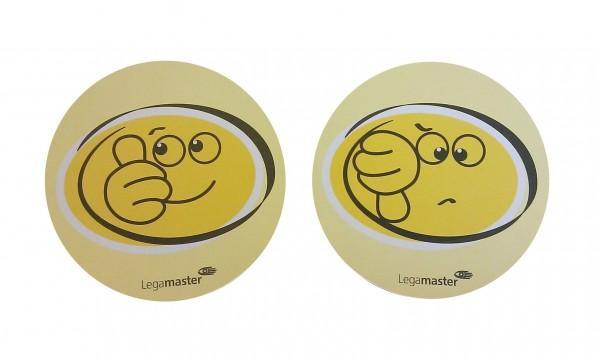 Legamaster Moderationskarten Emoticons