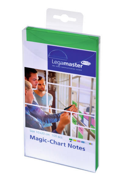 Legamaster Magic-Chart Notes 10x20 cm (selbsthaftende Moderationskarten)