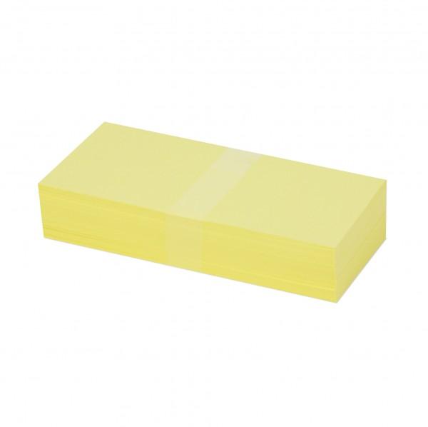 """Rechteck-Karten (Pastellfarben, 20 x 10 cm """"Standard"""")"""