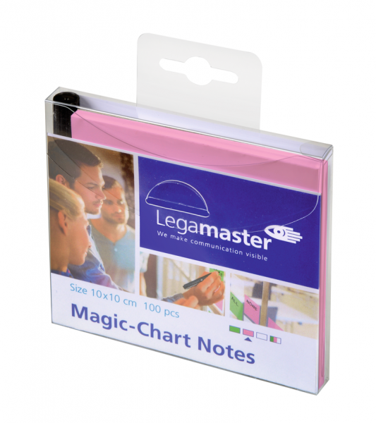 Legamaster Magic-Chart Notes 10x10 cm (selbsthaftende Moderationskarten)