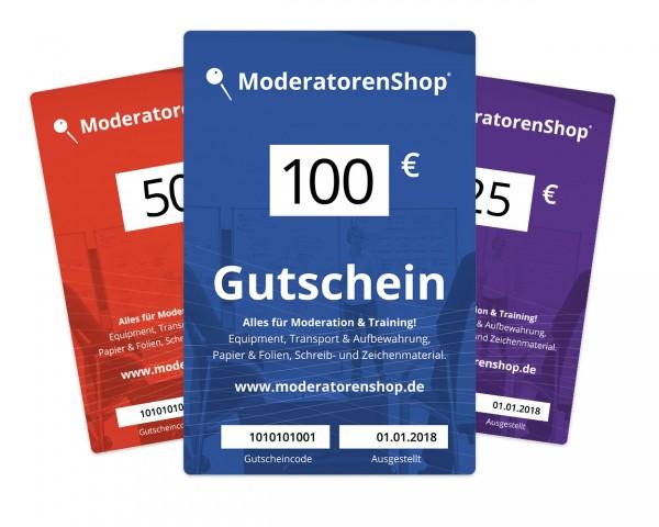 Gutschein - moderatorenshop®